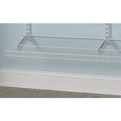 Find The ClosetMaid ShelfTrack 3 In. Shoe Shelf Brackets Durable Metal  Construction The Brackets Have A Smooth, Durable White