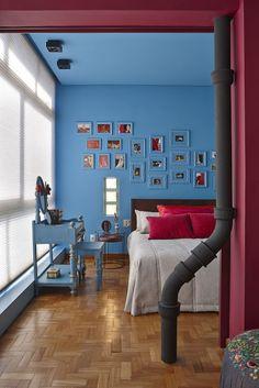 Achados de Decoração - blog de decoração: ESPAÇO DO(A) DESIGNER: APARTAMENTO DECORADO POR GISLENE LOPES - BH