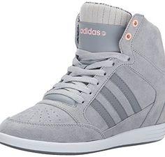 2ead698417c adidas NEO Women s Weadidas NEO Super Wedge Sneaker Wedge Sneakers