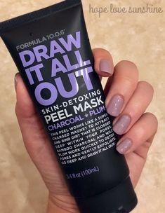 Charcoal Peel Off Mask by Formula – Face Diy Mask Masque Peel Off, Face Mask Peel Off, Charcoal Peel Off Mask, Acne Face Mask, Best Peel Off Mask, Face Skin, Lip Scrub Homemade, Skin Detox, Homemade Face Masks