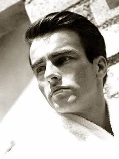 Montgomery Clift, who began as a beautiful face and became a splendid actor.