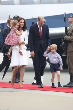 Royal watchers can expect the children to be seen on at least a couple of occasions over the course of the week