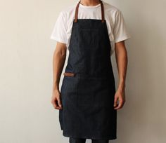 Barista apron for both men and women
