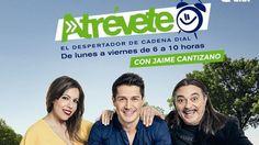 Jaime Cantizano de Atrévete - Cadena Dial. Radio española