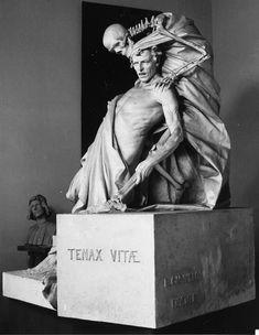 """Tenax Vitae"" (Tenacious Life) - Rinaldo Carnielo (1853-1910) Photo #4 of 4"