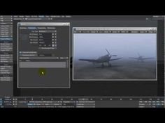 LightWave 11.5 - Creating ground fog using the new fog texture feature video tutorial from Kevin Phillips.