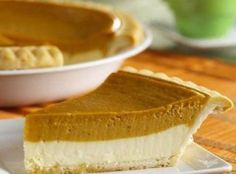 PUMPKIN CHEESECAKE Pie Recipe » The Homestead Survival