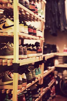 sneaker storage #nike