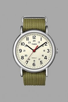 Timex Weekender Watch Olive | someplace
