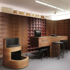 David Chipperfield models Bally flagship store  on 1920s Marcel Breuer interior