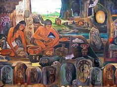 """""""Many Spanish settlers took Taino wives. They brought in African slaves to take the place of dead Taino workers. Today Puerto Rico and the Dominican Republic are, genetically and culturally, mostly a mix of Spanish, Taino and West African: Puerto Rico: genetically 10% to 15% Taino"""""""