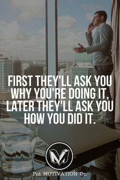 How you did it. Follow all our motivational and inspirational quotes. Follow the link to Get our Motivational and Inspirational Apparel and Home Décor. #quote #quotes #qotd #quoteoftheday #motivation #inspiredaily #inspiration #entrepreneurship #goals #dreams #hustle #grind #successquotes #businessquotes #lifestyle #success #fitness #businessman #businessWoman #Inspirational
