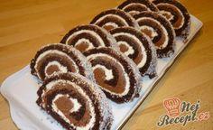 Falešné tiramisu připravené do 15 minut Hungarian Desserts, Czech Recipes, Sweet Desserts, Food 52, Baking Recipes, Delish, Muffin, Sweets, Cookies