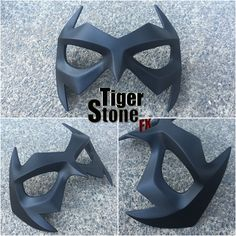 Tiger Stone FX - New 52 Nightwing mask - Movie quality costume parts and props. Be what you want. Cosplay is for everyone!