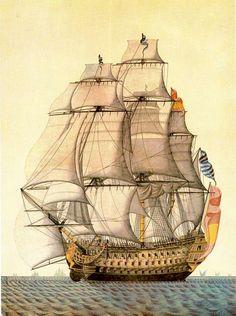 Navío Real Carlos 1787-1801