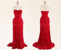 Red prom dresses long prom dress prom dresses 2014 by sposadress, $129.00