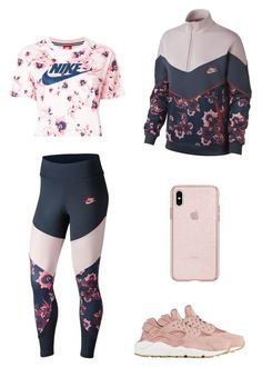 """Pink workout"" by em Cute Sporty Outfits, Cute Workout Outfits, Workout Attire, Swag Outfits, Dance Outfits, Sport Outfits, Trendy Outfits, Cool Outfits, Workout Wear"