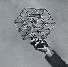 R. Buckminster Fuller: Conceptuality of Fundamental Structures from Structure in Art and in Science ,1965.