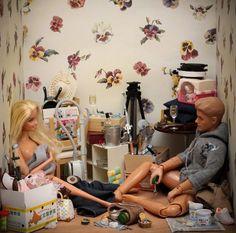 Barbie in Real Life by Mariel Clayton Barbie Funny, Bad Barbie, Barbie And Ken, Barbie Humor, Barbie Stuff, Barbie In Real Life, Barbie Life, Barbie World, Barbie House