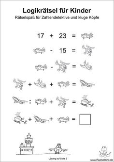 Logic puzzles for kids Logic puzzles for kids Logic puzzles for kids Th . Math Activities For Kids, Math For Kids, Puzzles For Kids, Kids Learning, Logic Puzzles, Word Puzzles, Welcome To School, Math Quotes, Spy Party