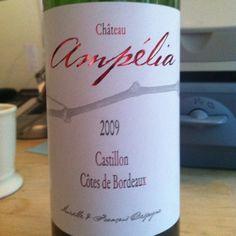 2009 Castillon, Côtes de Bordeaux #French #wine