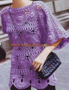 """hairpin lace crochet tunic [   """"Not crazy about the color, but interesting"""",   """"looks like hairpin lace"""" ] #<br/> # #Hairpin #Lace #Crochet,<br/> # #Crochet #Tunic,<br/> # #Broomstick #Lace,<br/> # #Tunics,<br/> # #Chrochet,<br/> # #Colors,<br/> # #Clothes,<br/> # #Tops,<br/> # #The #O"""