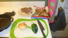 Bachelors Bites: Steak Fajitas Easily done left over steak fajitas, quick, simple, badabing badaboom - dinners served
