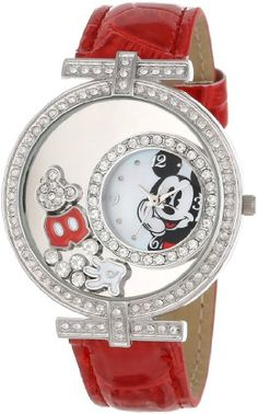 Save $10.00 on Disney Women`s MCKAQ1308S Mickey Mouse Watch; only $30.00 + Free Shipping