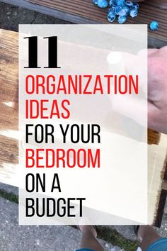 Make your bedroom more cozy with these bedroom storage DIY ideas you can do on a budget. Simple organization ideas and tips for small rooms. #hometalk