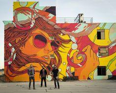Coletivo @bicicletasemfreio Mural in LosAngeles