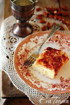 Almond Tart. English Translation Option.