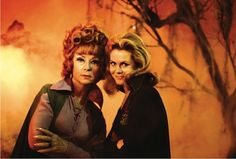 bewitched on pintrest   Samantha and Endora from the TV show Bewitched via Vecco on Pinterest