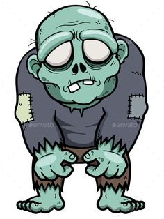 Buy Zombie by SARAROOM on GraphicRiver. Vector illustration of Cartoon Zombie Zombie Drawings, Cartoon Drawings, Art Drawings, Cute Zombie, Zombie Art, Funny Zombie, Zombie Clipart, Zombie Illustration, Character Concept
