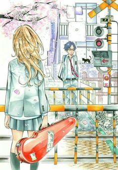 Kousei and Kaori~~ The Beginnng