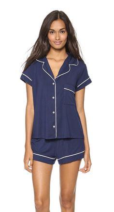 Cute summertime pajamas.