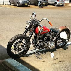Bobber Inspiration - Bobbers and Custom Motorcycles Sportster Motorcycle, Harley Bobber, Harley Davidson Chopper, Harley Davidson News, Harley Davidson Sportster, Motorcycle Gear, Cool Motorcycles, Vintage Motorcycles, Enjoy The Ride
