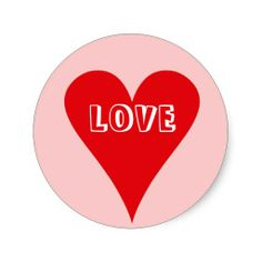 Love Stickers -- Show your love all the time, not just February.