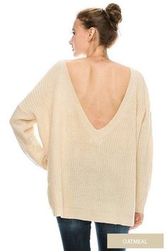 Front & Deep V Line Back Detailed Pullover Sweater   Shop Today >> http://ift.tt/2hhgAMr   #sale #christmassale #sweater #womenssweater #cocolove #womensclothing #fallcloset #highfashion #stylist #styleish #fashion #fashionista #newsty #like #follow #love #like #look #christmas