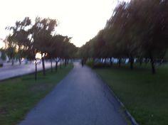 Walking in my park