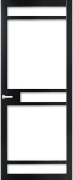 WK6312 C - Industriële binnendeur met een strak, modern, stoer en tijdloos design. Kenmerkend voor deze deur is de verfijnde uitstraling en de slanke profilering. Passend in een modern en strak interieur. De deur zorgt voor veel lichtinval en een ruimtelijk karakter. Ook toepasbaar als dubbele deuren of schuifdeur(en).