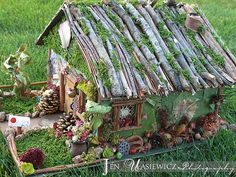 Homemade Fairy Houses | Our Homemade Fairy House :) | Flickr - Photo Sharing!