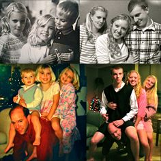 Recreating childhood photos - WE MUST DO THIS!!