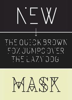 two free fonts! i like them