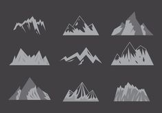 FREE mountaineer vector graphics for any purposes