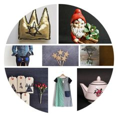 """""""Golden Crown"""" by vegetarian-wolf ❤ liked on Polyvore featuring interior, interiors, interior design, home, home decor and interior decorating"""