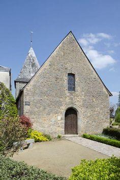La chapelle saint pierre de saulges petite cite de caractere mayenne
