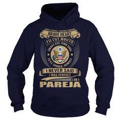 I Love PAREJA Last Name, Surname Tshirt T-Shirts