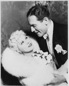 Mae West and Paul Cavanagh in Goin' to Town (1935)