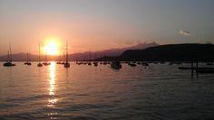 Sonnenuntergang bei Bardolino 2012