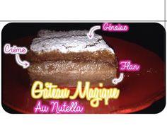 Gâteau magique au Nutella. http://youtu.be/kkwPnXCNCds?list=UU8HgrsWBMnhAfgqbJQJjZ7w